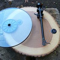 Audiowood, lemezjátszók fából