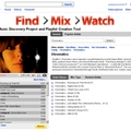 Find>Mix>Watch, a YouTube playlist generátora