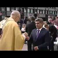 Börtönben készült ostyával misézik a pápa