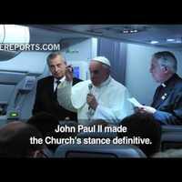 Ferenc pápa: ki vagyok én, hogy megítéljem a melegeket?