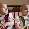 Réka és Emese 1 éves