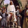 Virágvasárnap. Jézus bevonul Jeruzsálembe - ige
