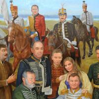Kósa Lajos freskó Debrecenben!