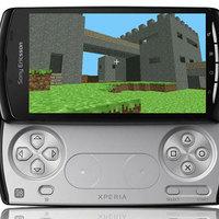 Először az Xperia Play-re érkezik a Minecraft
