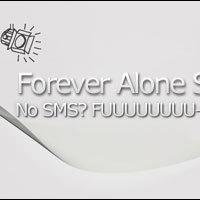 WTF Szombat: Forever Alone SMS Widget
