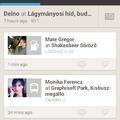 Elemzés: Foursquare interfész