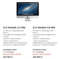 Itt a falra akasztható iMac