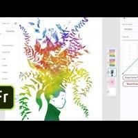 Ilyen lesz az Adobe új rajzolós programja iPadre