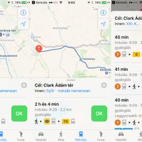 Megjelent a tömegközlekedés az Apple saját térképalkalmazásában!