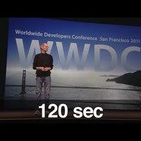 Itt a WWDC két percben