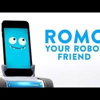 Megjött Romo, a nagyon-nagyon-nagyon fura iPhone-robot, közben a Google átveszi a világhatalmat