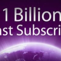 Egymilliárd podcast feliratkozás az iTunes-ban
