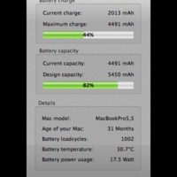 Meddig bírja a MacBook beépített akkumulátora?
