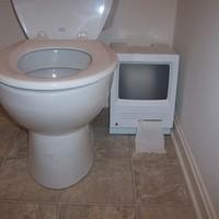 Vécépapírtartó Macből