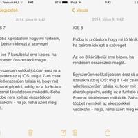 Sokkal ügyesebben találja ki az iOS 8, hogy mit akarunk írni