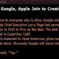 A Google felvásárolja az Apple-t 9 milliárdért: egy álhír tanulságai