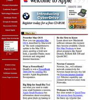Hogy nézett ki az Apple weboldala 15 évvel ezelőtt?