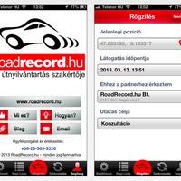 Többé nem kell útnyilvántartással szívni - RoadRecord