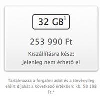 Az iPhone 5s, iPhone 5c magyar árai