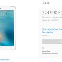 Megindultak a 10 colos iPad Pro és iPhone SE előrendelések, nálunk még várni kell áprilisig
