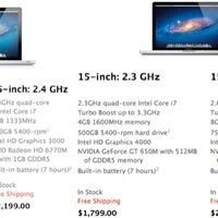 Itt az új 15-ös MacBook Pro, Retina Display in da house