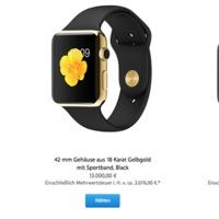 Ezer dollár lesz a kiterjesztett garancia az Apple Watch Editionre