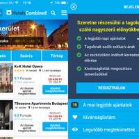 Mielőtt szállást foglalsz, ezt az appot tölsd le - HotelsCombined