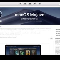 Tölthető a macOS Mojave