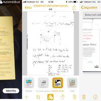 Marha jó az iOS 11 dokumentum szkennere