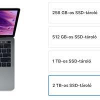 Olcsóbbak lettek az SSD upgrade-ek az Apple-nél
