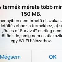 Hogyan játsszuk ki az iOS 150 megabájtos mobilletöltési korlátozását?
