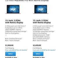 Egyre hosszabban kell várni a 15-ös MacBook Próra