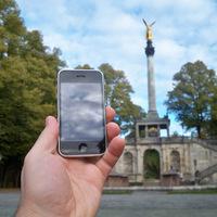 Utazó iPhone: München
