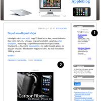 Appleblog hirdetési ajánlat