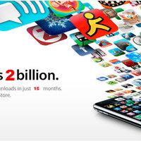 Kétmilliárdnál tart az AppStore