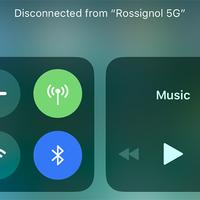 Az új Control Center nem hajlandó teljesen kikapcsolni a Wi-Fi-t és a Bluetooth-t