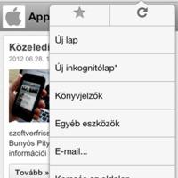 Tetszik a Chrome iOS-en