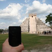 Utazó iPhone: Chichén Itzá