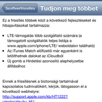 Ezt tudja az iOS 6.1