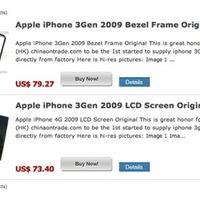 Már árulják az új iPhone alkatrészeit