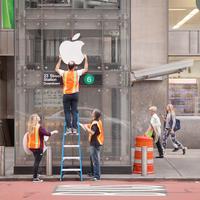 Itt az év csínytevése: Apple Store-t csináltak egy New York-i metróállomásból