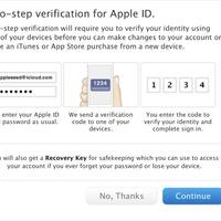 Kétlépcsős azonosítást vezet be az Apple
