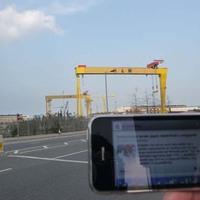 Utazó iPhone: Belfast