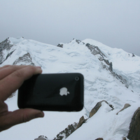 Utazó iPhone: hóóóó