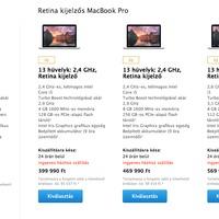 Az Apple bemutatja: olcsóbb és erősebb MacBook Prók