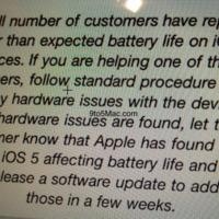 Kezeli az Apple az iOS 5 akkuhibáját