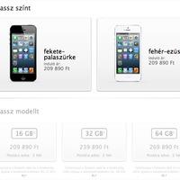 Még mindig iPhone 5-hiány van, de már nem akkora