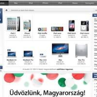 Bréking: Itt a magyar online Apple Store
