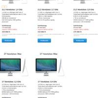 Bréking: itt vannak az olcsó iMacek!