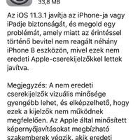 Egybekezdés: Itt a furán viselkedő iPhone 8-asok kedvenc iOS-frissítése